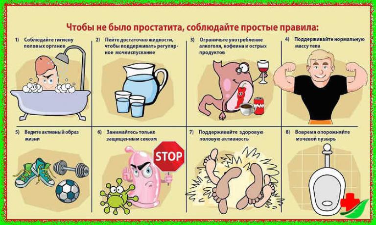 пить для профилактики простатита