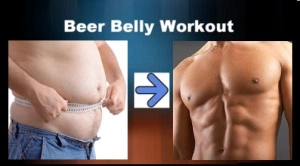 убрать пивной живот