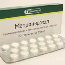 Метронидазол при гонорее: как принимать, побочные эффекты